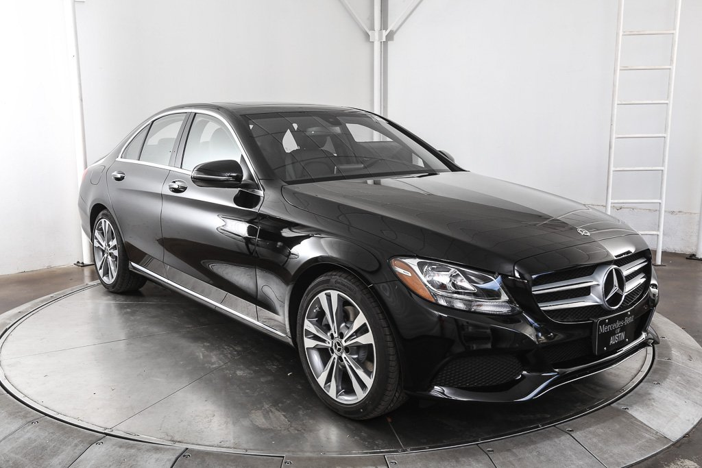 Certified pre owned 2018 mercedes benz c class c 300 4d Mercedes benz certified pre owned lease