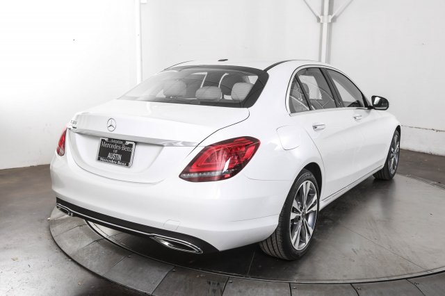 Certified Pre-Owned 2019 Mercedes-Benz C-Class C 300 RWD 4D Sedan