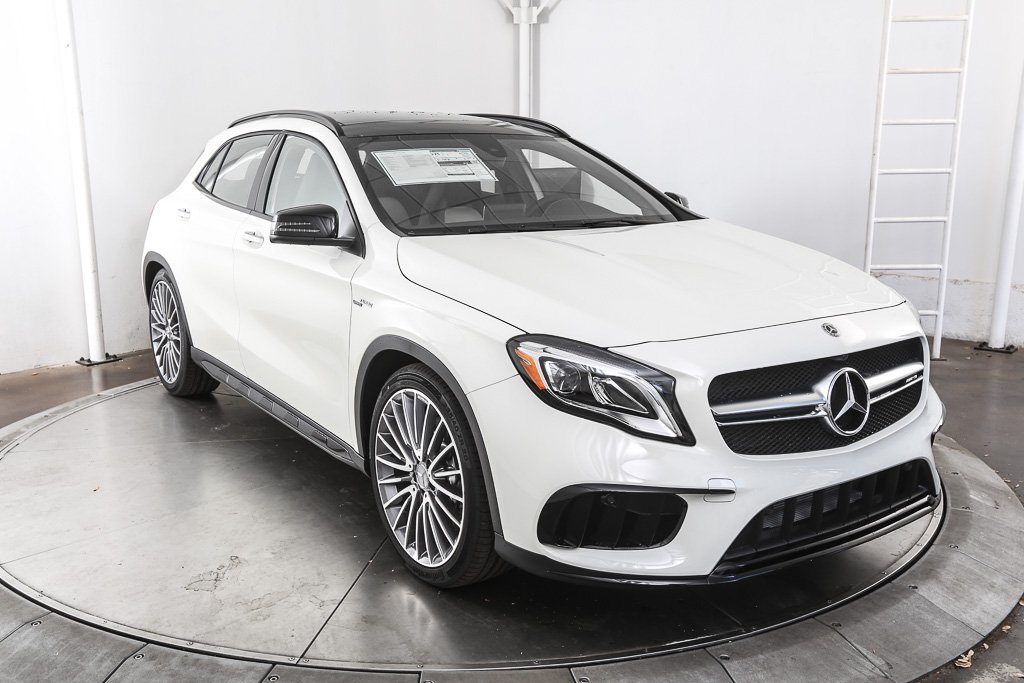 New 2018 mercedes benz gla gla 45 amg 4d sport utility in for Mercedes benz financial payment address