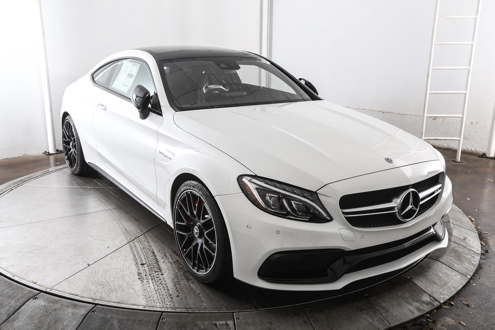 New 2018 mercedes benz c class c 63 s amg 2d coupe in for Mercedes benz financial contact number