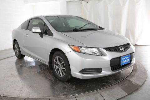 Pre-Owned 2012 Honda Civic LX FWD 2D Coupe